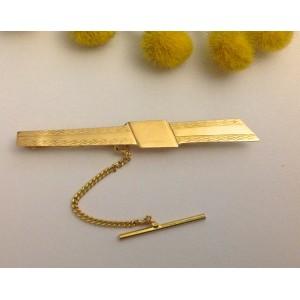 Запонка для галстука из жёлтого золота - 18 кт - gr. 2.75