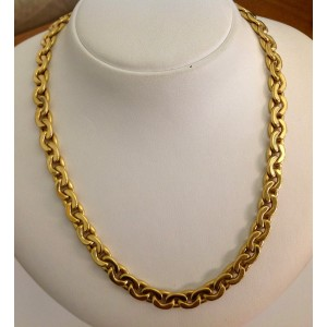 18kt Solid Gold Unisex Chain - gr 32.74