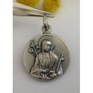 Медаль - Св. Екатерины Сиенской - из серебра 925