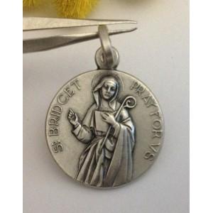 Медаль - Св. Бриджид - из серебра 925
