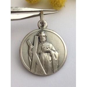 Медаль - Св. Андрея - из серебра 925