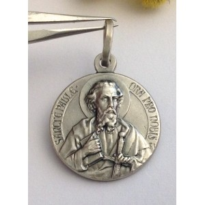 """Saint Paul"" 925 Sterling Silver Medal"