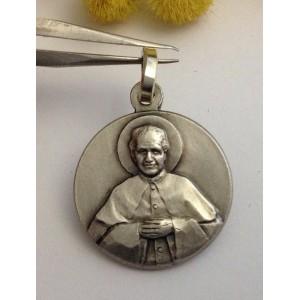 """Medaglietta """" San Giovanni Bosco """" in argento 925 millesimi"""