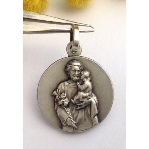 Медаль - Св. Иосифа  - из серебра 925