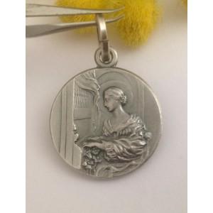 Медаль - Св. Сесилии - из серебра 925
