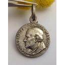 """Medaglietta """" Beato Papa Giovanni Paolo II """" in Argento 925 millesimi"""