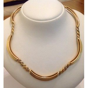 18kt Solid Gold Necklacet - gr. 84.7