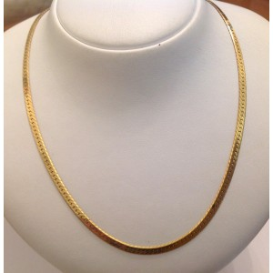 18kt Solid Gold Necklace - gr. 15.5