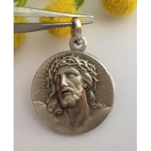 "925 Sterling Silver "" Ecce Homo "" Medal"