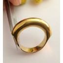 Anello in oro giallo 18kt - gr. 7.6