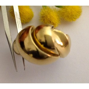 18kt Solid Gold Vintage Ring - gr. 10.24