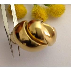 Старинное кольцо из жёлтого золота 18kt - gr. 10.24