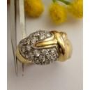 Anello in oro giallo 18kt con Cubic Zirconia - gr. 6.58