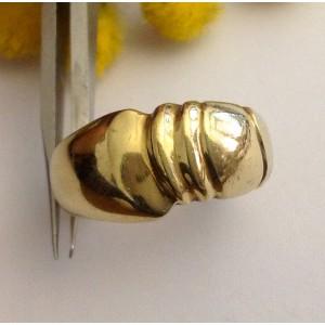 Кольцо из жёлтого золота 18kt - gr. 10.14