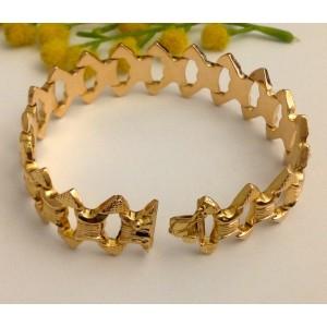 18kt Solid Gold Vintage Bracelet - gr. 18.28