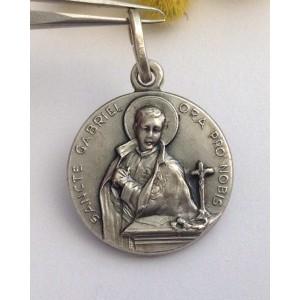 Медаль - Св. Габриэль - из серебра 925