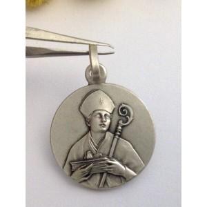 "925 Sterling Silver "" Saint Gennaro "" Medal"