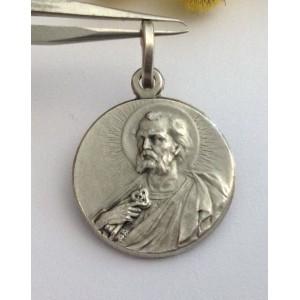 Медаль - Св. Архангел Пётр - из серебра 925