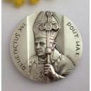 """Medaglione """" Papa Benedetto XVI° e Papa Giovanni Paolo II°"""