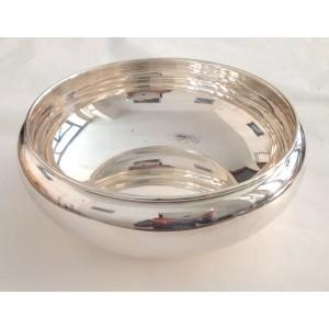 Декоративный предмет для центра стола из чистого серебра