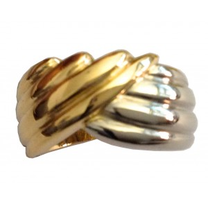 18kt Solid Gold Ring - gr. 11.07