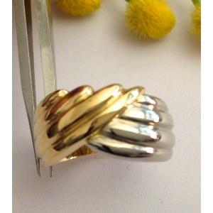 Кольцо из жёлтого белого золота 18kt - gr. 11.07