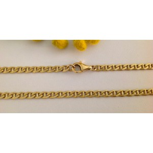 18kt Solid Gold Unisex Chain - gr. 39