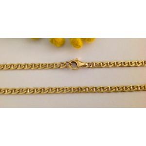 "Цепочка ""унисекс"" из жёлтого золота - 18 кт- gr. 39"