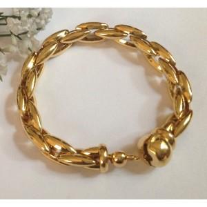 18kt Solid Gold Bracelet - gr 46.2