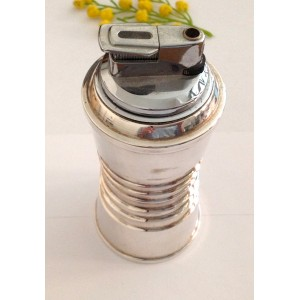 800 Solid Silver and Stainless Steel Lighter table