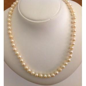 Collana di Perle Coltivate e oro 18kt