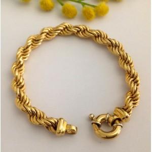 18kt Solid Gold Bracelet - gr. 20.5