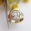 Anello in oro 18kt con Diamanti - gr. 8.10