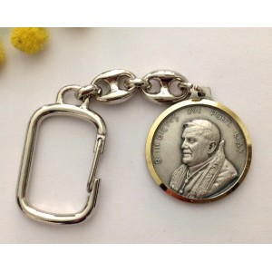 """Pope Benedict XVI° & Saint Peter Place "" Key Holder"