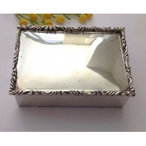 925 Sterling Silver Cigarette Case