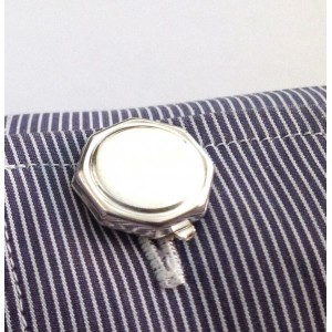 925 Sterling Silver Buttoncovers