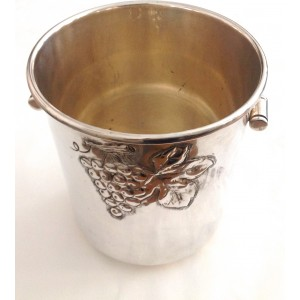 800 Solid Silver Cooler Basket