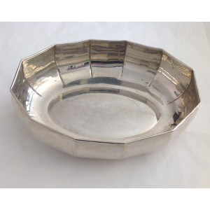 800 Solid Silver Oval Centerpiece
