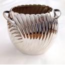 Vaso con manici in argento massiccio 925 millesimi