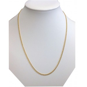 18kt Solid Gold Unisex Chain - gr. 4.70