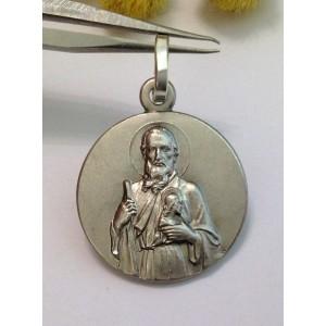"""Medaglietta """" San Giuda Taddeo """" in argento 925 millesimi"""