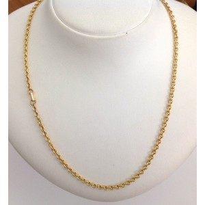 18kt Solid Gold Unisex Chain- gr. 17.55
