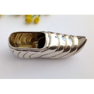 800 Solid Silver Dutch Clog