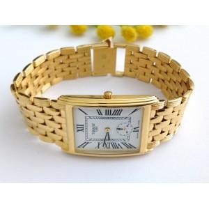 18kt Solid Gold Men's Tissot wristwatch gr. 69.97
