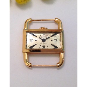 "18kt Solid Gold Vintage Wristwatch "" Lorenz """