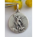 """Saint Michel the Archangel""  925 Sterling Silver Medal"