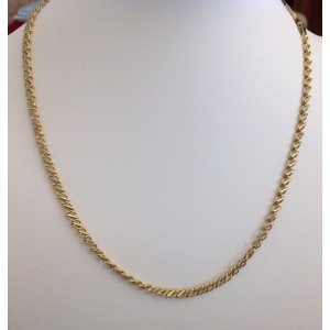 18kt Solid Gold Unisex Chain - gr. 25.51