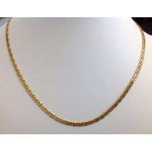 18kt Solid Gold Men's Chain - gr. 19.74