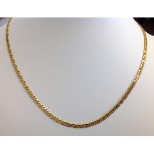 Цепочка для мужчин из жёлтого золота - 18 kt - gr. 19.74