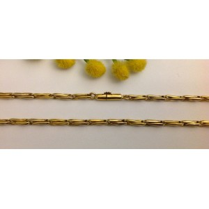18kt Solid Gold Men's Chain - gr. 25.88